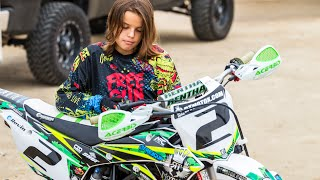 getlinkyoutube.com-Motocross Kids Rippin On Dirt Bikes (Free Ride edition) Featuring FMX star Javier Villegas