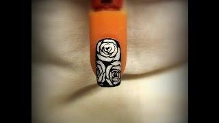 getlinkyoutube.com-Nail art Gel 2 : Rose