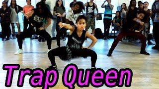 getlinkyoutube.com-TRAP QUEEN - Fetty Wap Dance | @MattSteffanina Choreography ft 9 y/o Asia Monet! #DanceOnTrap