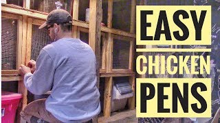 NEW BANTAM CHICKEN COOP - How We Built a Bantam Chicken Coop for Show Chickens