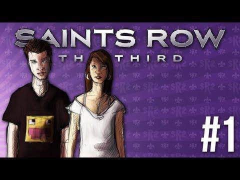 skkf & Madzia: Saints Row: The Third #1 - REKINY WYŻARŁY MI MÓZG
