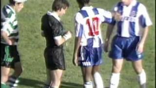 10J :: Sporting - 1 x Porto - 1 de 1992/1993