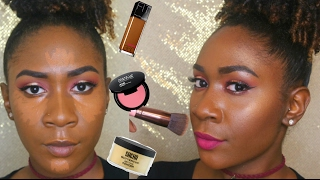 getlinkyoutube.com-Updated Flawless Foundation Routine (Highlight, Contour & More)