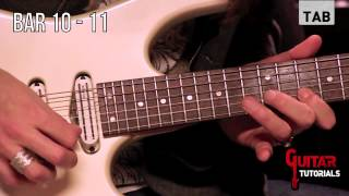 Rest In Peace (Extreme) - Solo - Guitar Tutorial with Paul Audia
