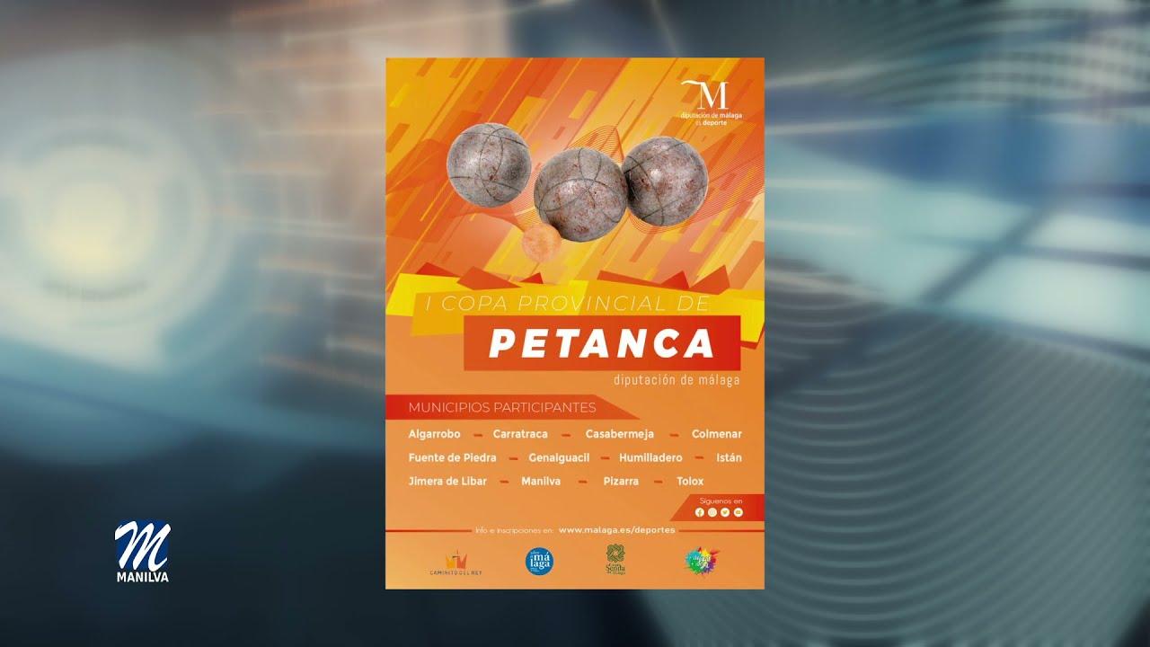 Manilva es sede de la I Copa provincial de Petanca