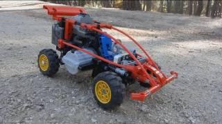 getlinkyoutube.com-LEGO XR7 Mini Rally Car, small and AWD by Sheepo