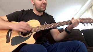 Crvena Jabuka-Tamo gde ljubav pocinje (guitar cover)