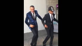 Chance the Rapper and Stephen Curry