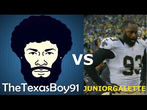 #MUT25 Gameplay | TexasBoy Embarrasses Junior Galette & Saints Fans