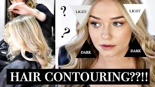 getlinkyoutube.com-Michelle Tries: HAIR CONTOURING?!!   Beauty.Life.Michelle
