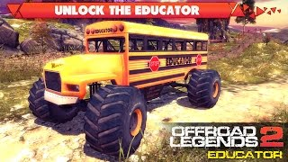 getlinkyoutube.com-How to Unlock Educator in OffRoad Legends 2 (for FREE)