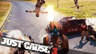 getlinkyoutube.com-EPIC CAR CHASE IN JUST CAUSE 3! :: Just Cause 3 Funny Moments!