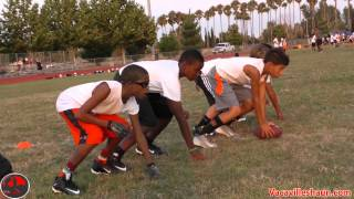 getlinkyoutube.com-Hell Week 2 Pads With The Vacaville Bengals