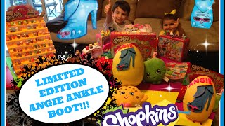 getlinkyoutube.com-Shopkins Limited Edition ANGIE ANKLE BOOT Surprise EGG!