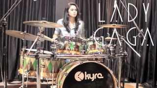 getlinkyoutube.com-Aura - Lady Gaga (Drum Cover) - Rani Ramadhany
