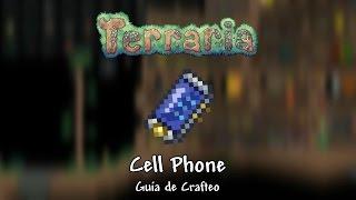 "getlinkyoutube.com-Cell Phone (""Celular"") - Guía de Crafteo - Terraria 1.3"