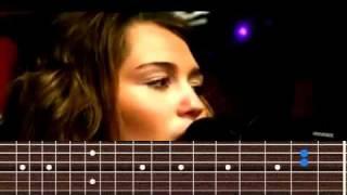 getlinkyoutube.com-Miley Cyrus - The Climb chords