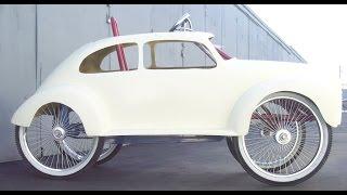 getlinkyoutube.com-Custom Bikes, Trikes, RadioFlyer &  Adult Pedal car