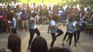 getlinkyoutube.com-Zeta Phi Beta at 2012 Texas Greek Picnic Stroll Off