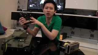 getlinkyoutube.com-รถถังบังคับ M41A3 คันใหญ่ ยิงปืนได้ + มีควัน!!