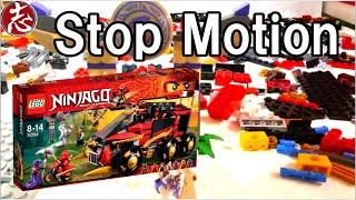 getlinkyoutube.com-LEGOninjago stopmotion anime 70750 レゴニンジャゴーおもちゃアニメストップモーションニンジャマシンDB X레고닌자고