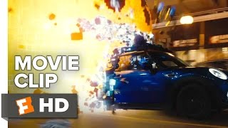 getlinkyoutube.com-Pixels Movie CLIP - Power Pill (2015) - Josh Gad, Adam Sandler Video Game Adventure HD
