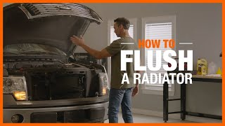 Watch this video to discover how to flush a radiator.