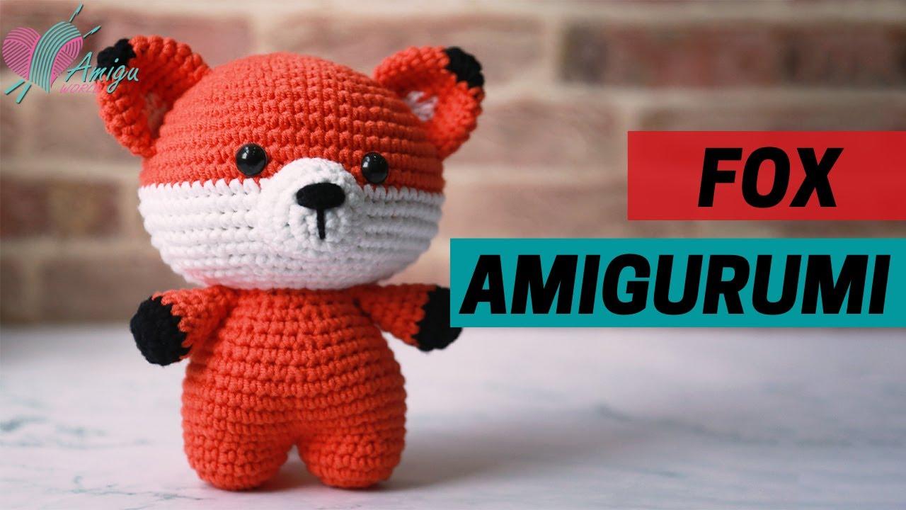 FREE Pattern – How to crochet a FOX amigurumi (P.1)