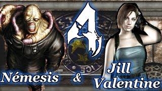 getlinkyoutube.com-Jill and Nemesis TEAM Mod Resident Evil 4 BETA