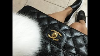 getlinkyoutube.com-UPDATED: Whats in my bag   CHANEL CLASSIC FLAP