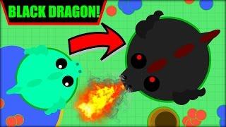 getlinkyoutube.com-MOPE.IO BLACK DRAGON   100000K SCORE BLACK DRAGON + ALL THE ANIMALS   MOPE.IO NEW UPDATE (Mope.io)