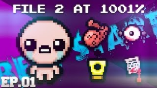 """getlinkyoutube.com-TBoI:Afterbirth File 2 """" THE BEST START """" [Ep.01]"""