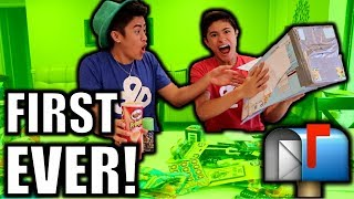 FAN MAIL UNBOXING!! (FIRST EVER)