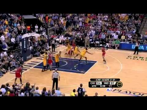 NBA Playoffs 2011 Pacers vs. Bulls Game 4 Highlights