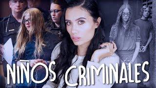 ¡6 CASOS de NIÑOS CRIMINALES! | Paulettee