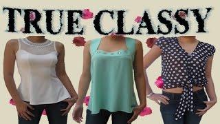 getlinkyoutube.com-moda en blusa-blusas de moda-blusa primavera 2015--blusa fashion-vestidos