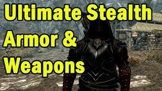 getlinkyoutube.com-Ultimate Stealth Armor & Weapons in Skyrim