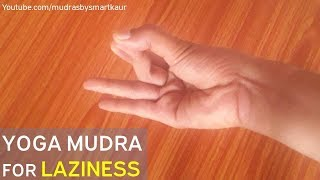 Vyan Mudra | yoga mudra to get rid of laziness RIGHT NOW