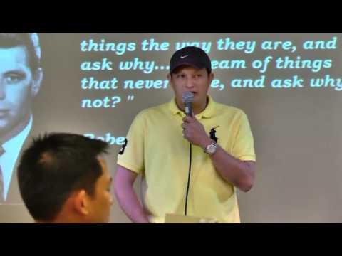 Wilson Ong Speech during PFGB Digmaan Meeting at Legends Villas