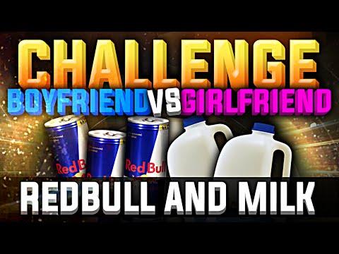 FIFA 15 | BF VS GF REDBULL AND MILK CHALLENGE !!