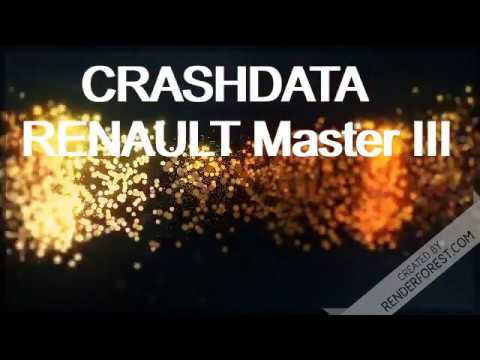 CRASHDATA RENAULT Master III