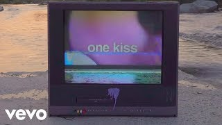 Calvin Harris, Dua Lipa - One Kiss (Lyric Video)