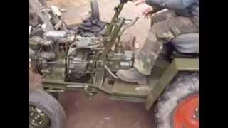 getlinkyoutube.com-самодельный трактор уд-25