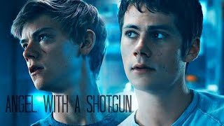 Newt & Thomas [the Scorch Trials] -  Angel with a Shotgun