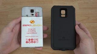 getlinkyoutube.com-ZeroLemon Samsung Galaxy S5 8500mAh Extended Battery + Zeroshock Rugged Case + Screen Protector!