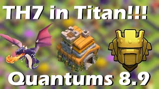 getlinkyoutube.com-TH7 in Titan League | above 4400 cups | Quantum´s 8.9 | Clash of Clans