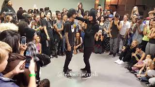 getlinkyoutube.com-Les Twins Cypher San Francisco Workshop 2015 Part 1