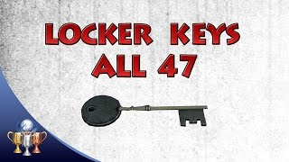 getlinkyoutube.com-The Evil Within - All 47 Locker Keys - Master of Unlocking Trophy / Achievement Guide