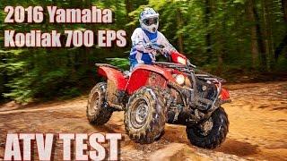 getlinkyoutube.com-2016 Yamaha Kodiak 700 EPS First Test Review