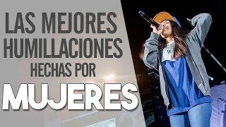 getlinkyoutube.com-Las Mejores HUMILLACIONES Hechas Por MUJERES En Batallas De Rap